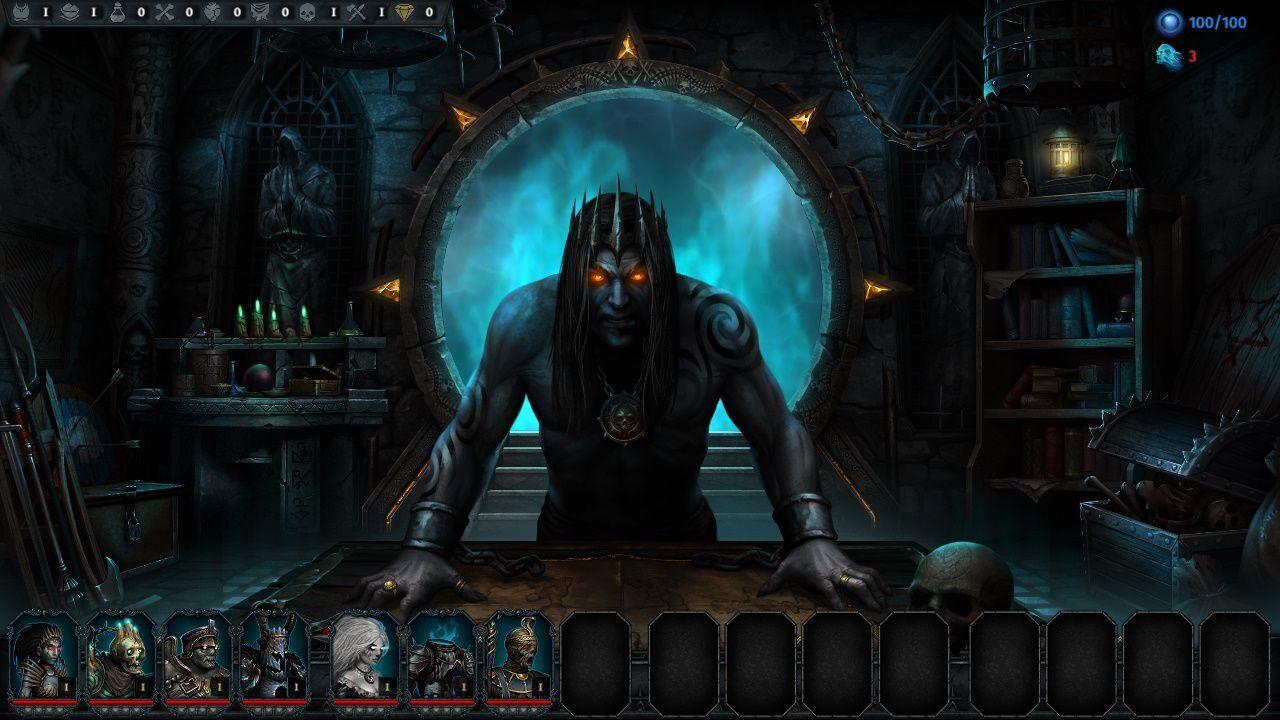 Тактическая ролевая стратегия Iratus: Lord of the Dead